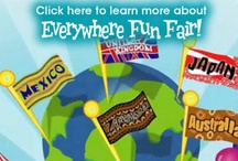 Vacation Bible School-Everywhere Fun Fair / Here is a great place for all Blessed Sacrament VBS leaders to pin ideas and share them together!