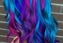 Colorfull hair