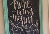 Chalkboard Summer