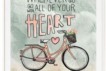 postcard bike
