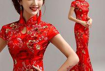 vestidos japoneses
