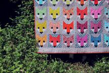 Quilt Inspiration / Inspiration and ideas for my first sewn quilt project! / by Cat McLaughlin