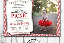 Millie's Turning 1- Teddy Bear's Picnic