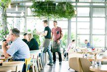 cafe, restaurant