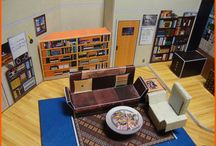 The Big Bang Theory Miniature Apartment / Sheldon's and Leonard's miniature apartment