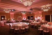 rose uplighting / by Superlative Events