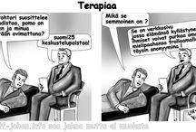Sarjakuvia  / Suomenkielisiä lyhyt sarjakuvia