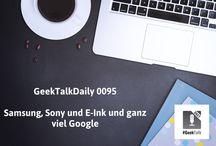 #GeekTalk Daily Podcast / #GeekTalk Daily tägliches Podcast Format vom Pokipsie Network.