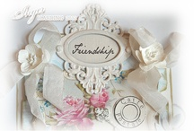 ~Inger Harding Shabby Chic Tags~ / Vintage/Shabby Chic Tag card made by Inger Harding.