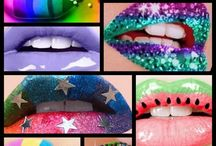 crazy lip art