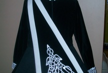 Irish dance dress capes