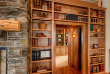 Libraries / Libraries featured in homes designed by Designs Northwest Architects