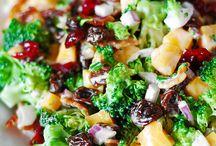 Saladas e Sucos