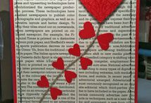 VALENTINE CARD & CRAFTING IDEAS / Valentine card and crafting ideas! / by Barbara Charles
