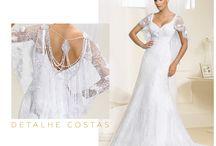 Detalhes do seu vestido de noiva / Todo vestido de noiva tem um detalhe especial