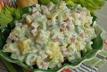 ziemniaczana salatka z selerem naciowym!