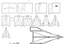 Do it You paper Airplane!! Infografías / Infografías de modelos de aviones de papel prodecendes de mi blog.  http://doityourpaperairplane.blogspot.com.es/