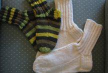 My knittings / I love knitting.