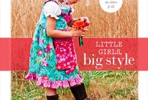 Little Girls, Big Style / Spotlight on what others have made from my first book, Little Girls, Big Style.