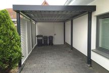 Wiata garaż