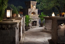 pizza oven..outdoor kitchen bbq