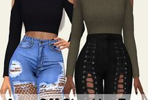 The Sims 4 tops