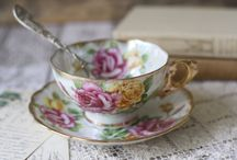 Dinnerware and tea cups