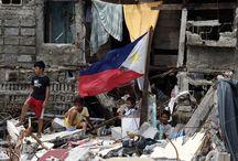 Urgence Philippines / Le 8 novembre, le typhon Haiyan, l'un des plus puissants jamais enregistrés, a frappé violemment les Philippines. Oxfam se mobilise pour venir en aide aux victimes