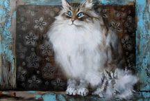 Мировые коты от мастеров всего мира