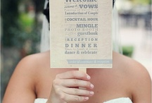 Beat the Heat~ / Ideas to keep your guests calm, cool, and collected during your outdoor wedding ceremony/reception.