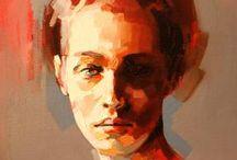 Portrett maleri