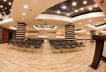 Конференц залы в Уфе / Гостиничный комплекс «Президент отель» по праву гордится своими возможностями для проведения конференций, семинаров, презентаций и переговоров. Респектабельная атмосфера, ненавязчивый сервис, четкая организация и внимание к малейшим деталям – залог успеха бизнес-мероприятия.