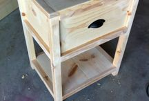 Woodworking plans night stand
