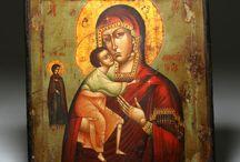 Ikoner/malerier fra bibelhistorien