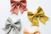 Beautiful handmade bows