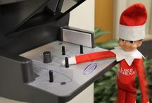 Bradshaw the #LenexElf / We've been #ElfOnTheShelf-ed!  Meet Bradshaw, the #LenexElf! He's named after Lenexa's founder, and he's our newest employee. He started today by clocking in, but he's not quite sure what job in the city he wants to do. So, Bradshaw is spending the next few weeks figuring it out.