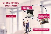 """Style makes You think - konkurs dla stylistów / Startujemy z konkursem dla stylistów """"Style makes You think"""" http://konkursdlastylistow.giacomo.pl .  Poniżej zdjęcia inspiracje."""