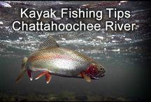 Chattahoochee River, Georgia / Kayaking and fishing on the Chattahoochee River