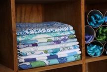 Sewing Room Organization / by Mary Mayhew/ nonna_mahoo