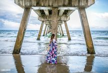 Deerfield Beach Pier Maternity Session South Florida
