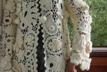 Irish Crochet Coats