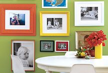 For the home - family lounge / Couches Rug Art/ Photo wall