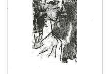Print - monotypes - Roman Lasa / monotypes