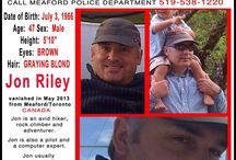 Finding Jon Riley / My brother Jon Riley disappeared in May 2013. Please share his photo. His family is missing him immensely ❤️ / by Tiki Tales
