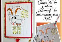Año Nuevo Chino / Este 19 de febrero, festeja el Año Nuevo Chino de la Cabra, ¡para todo, ten un gran detalle!   #EsDeAzor