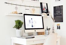 { blogger's work space } / by Katie / Yow Yow!