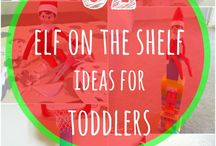 Elf on the Shelf / Ideas for our December visitor!