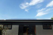 N様邸 ソーラーパネル倉庫 / 太陽光発電を搭載した倉庫