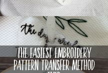 Embroidery Tips
