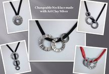 Art Clay Silver Jewelry / Are you interested in my jewelry? You can find them here.